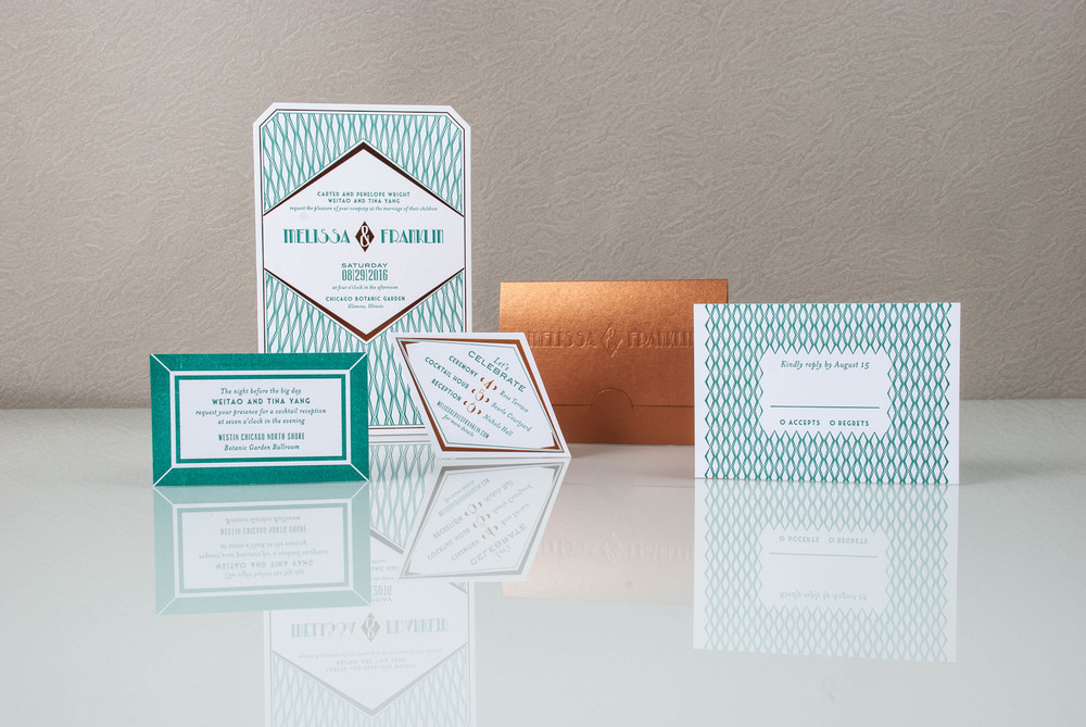 letterpress wedding invitations las vegas