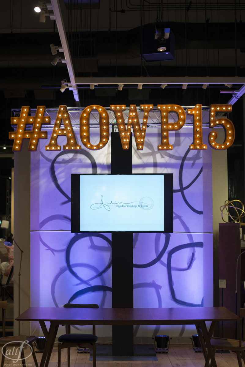 the art of wedding planning #AOWP15 LED Unplugged West Elm