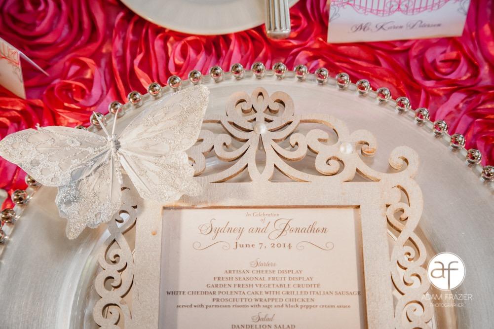Jeweled Wedding Invitations Sydney And Jonathan Paper