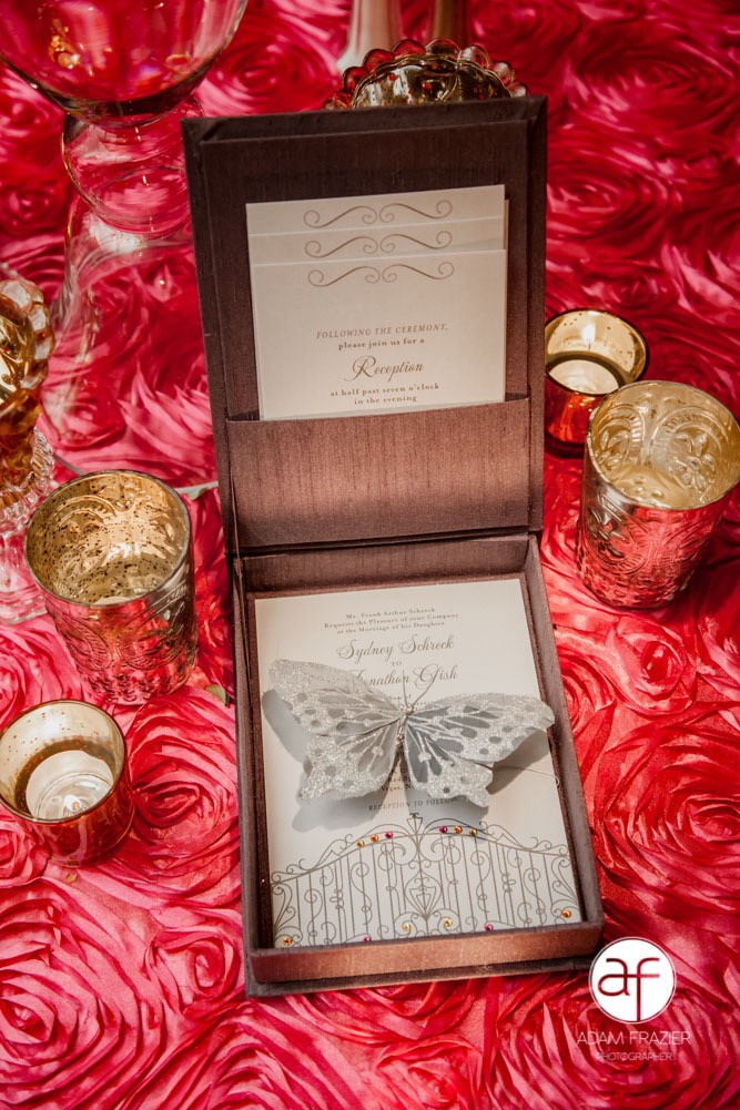 Jeweled Wedding Invitations Sydney and Jonathan Paper and Home