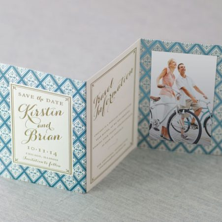 letterpress foil wedding invitations las vegas