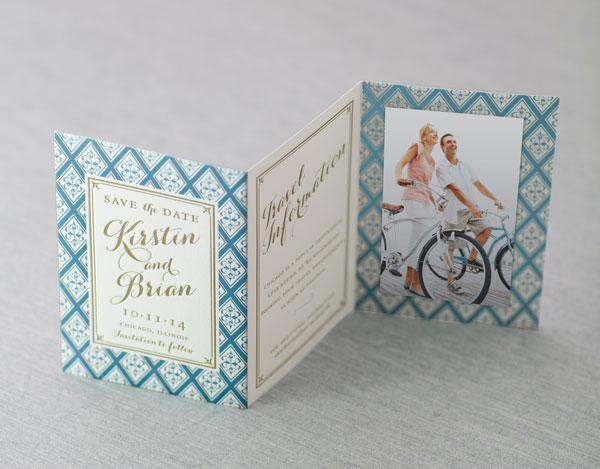 letterpress foil wedding invitations las vegas