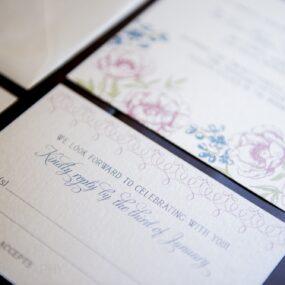 Vintage Wedding Invitations Las Vegas