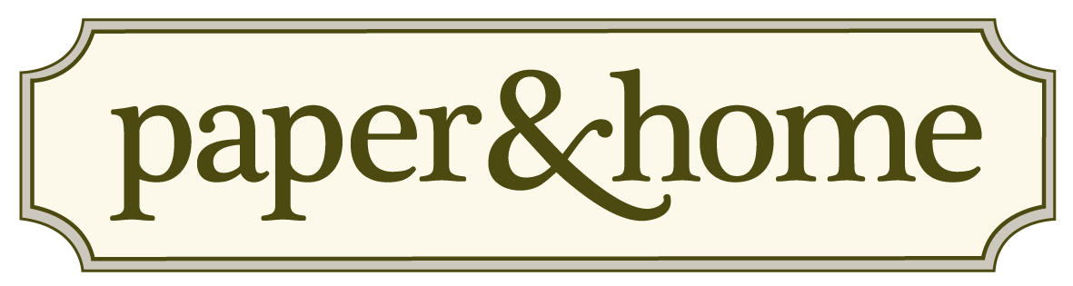 paper and home logo