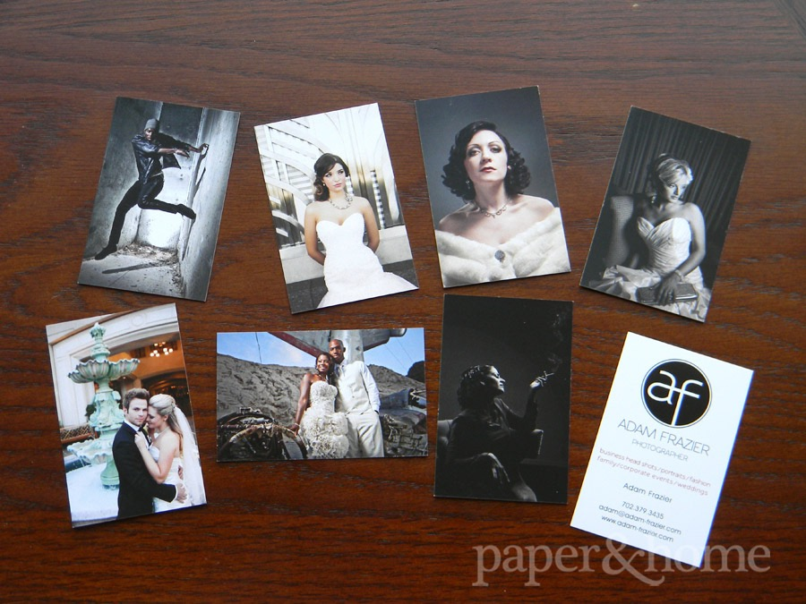 branding yourself photographer business cards