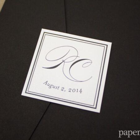classic wedding invitations