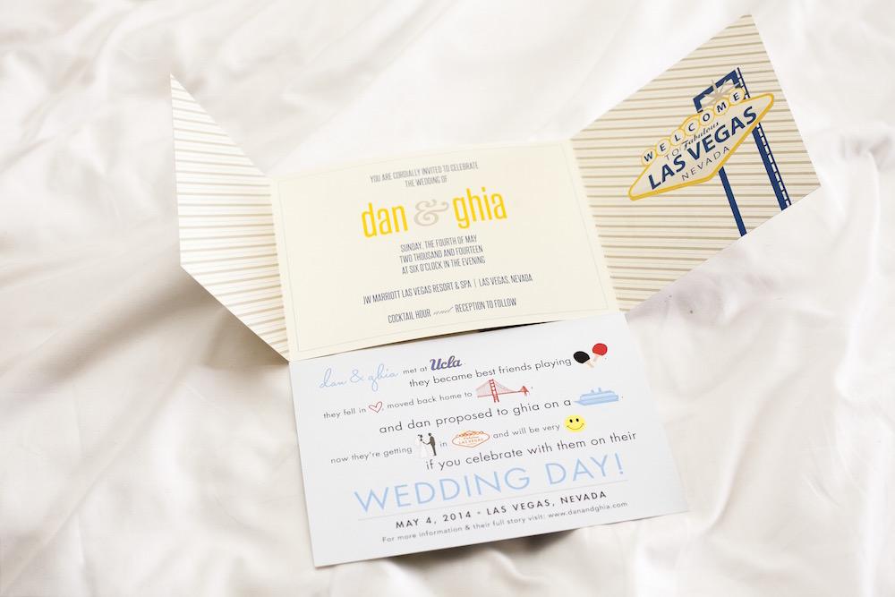 wedding invitations las vegas 2