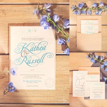 Paper Airplane Wedding Invitations