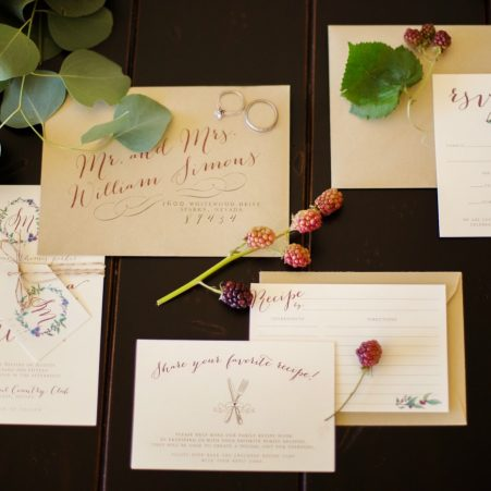 Berry Wedding Invitations