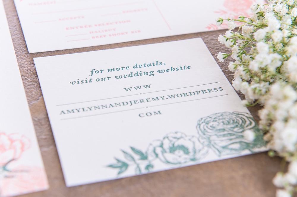 Letterpress Wedding Invitations Las Vegas