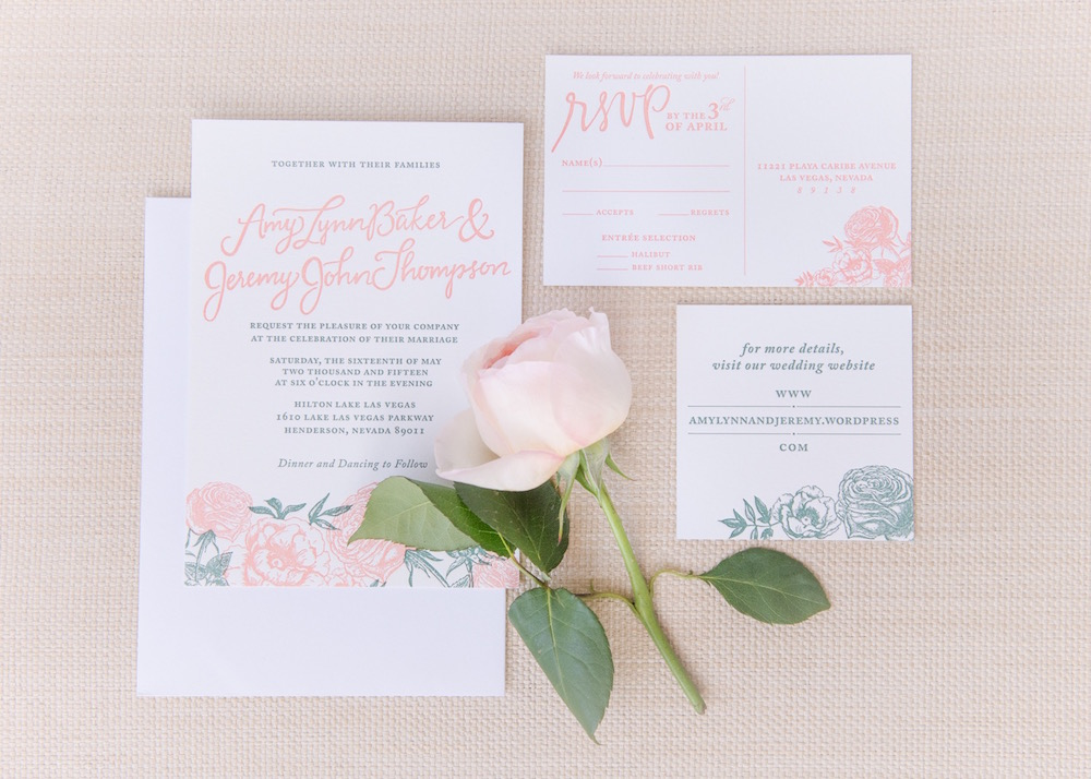 Garden Wedding Invitations: English Rose Garden Wedding Invitations