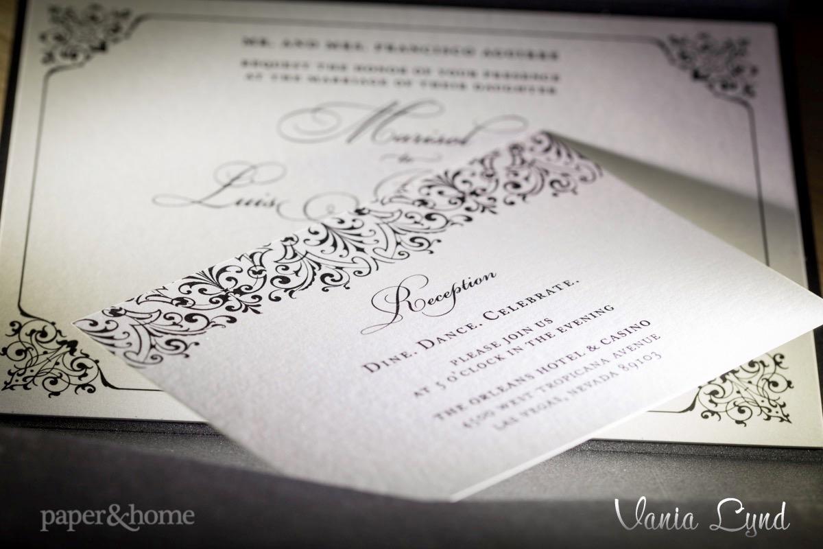 Shimmer Wedding Invitations