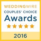 weddingwire couples choice awards 2016 badge