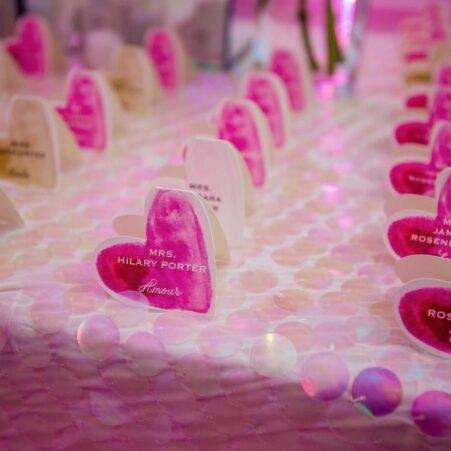 Valentine's Day Wedding Decor