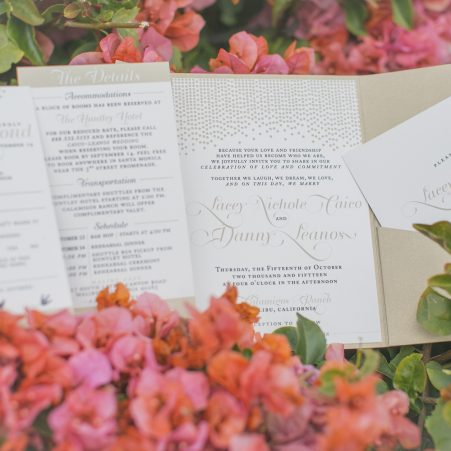 Fun and Lavish Wedding Invitations