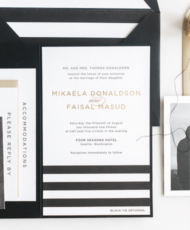 Mikaela Wedding Invitation