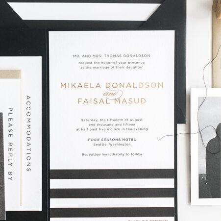 Mikaela Wedding Invitation