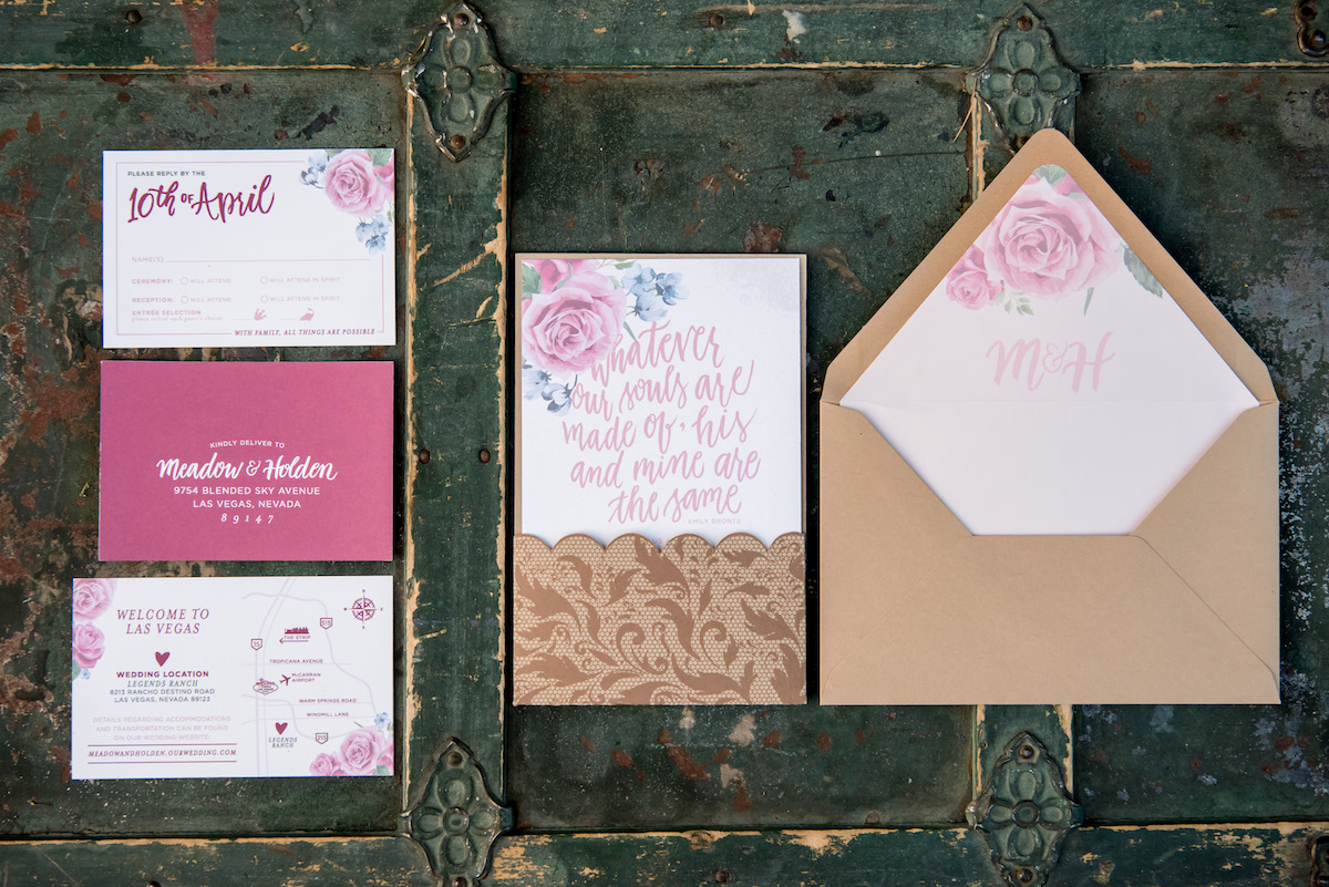 BOGO Wedding Stationery Set