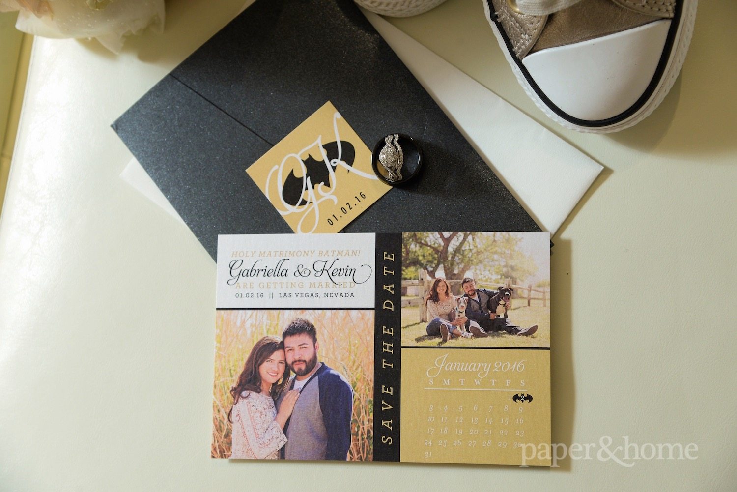 Batman Save the Dates