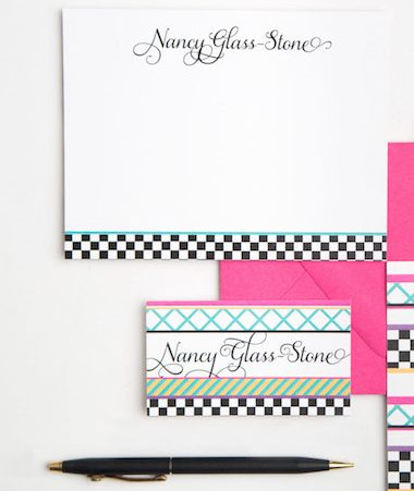 Eclectic Personal Stationery