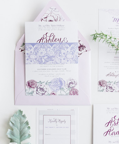Garden Wedding Invitations thumb
