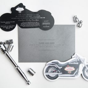 Harley Invitations