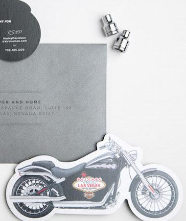 Harley Invitations