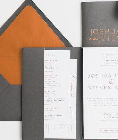 Modern Wedding Invitations thumb