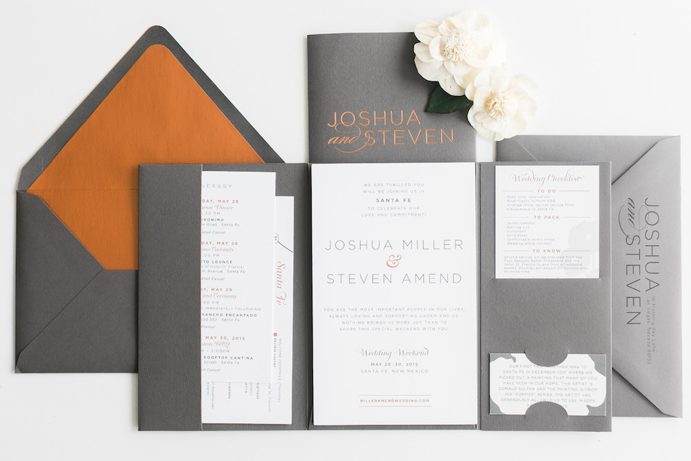 Innovative Wedding Invitations: Paper And Home