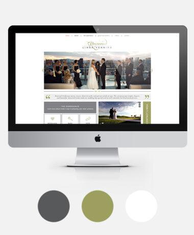reverend website design