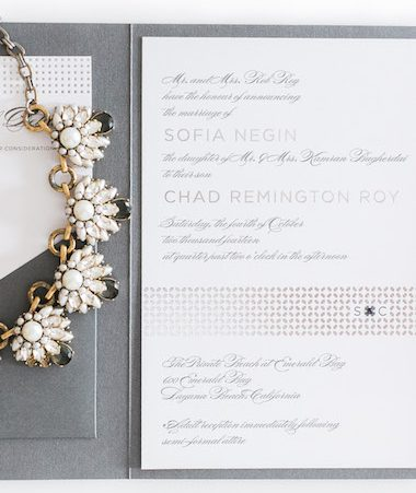 Sophisticated Wedding Invitations thumb