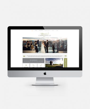 reverend website design