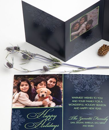 Trifold Photo Holiday Cards