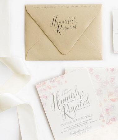 Water Color Wedding Invitations thumb