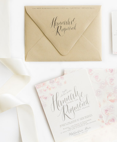 Water Color Wedding Invitations thumb