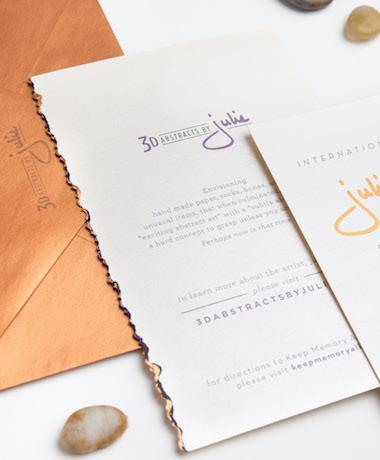 artist invitations