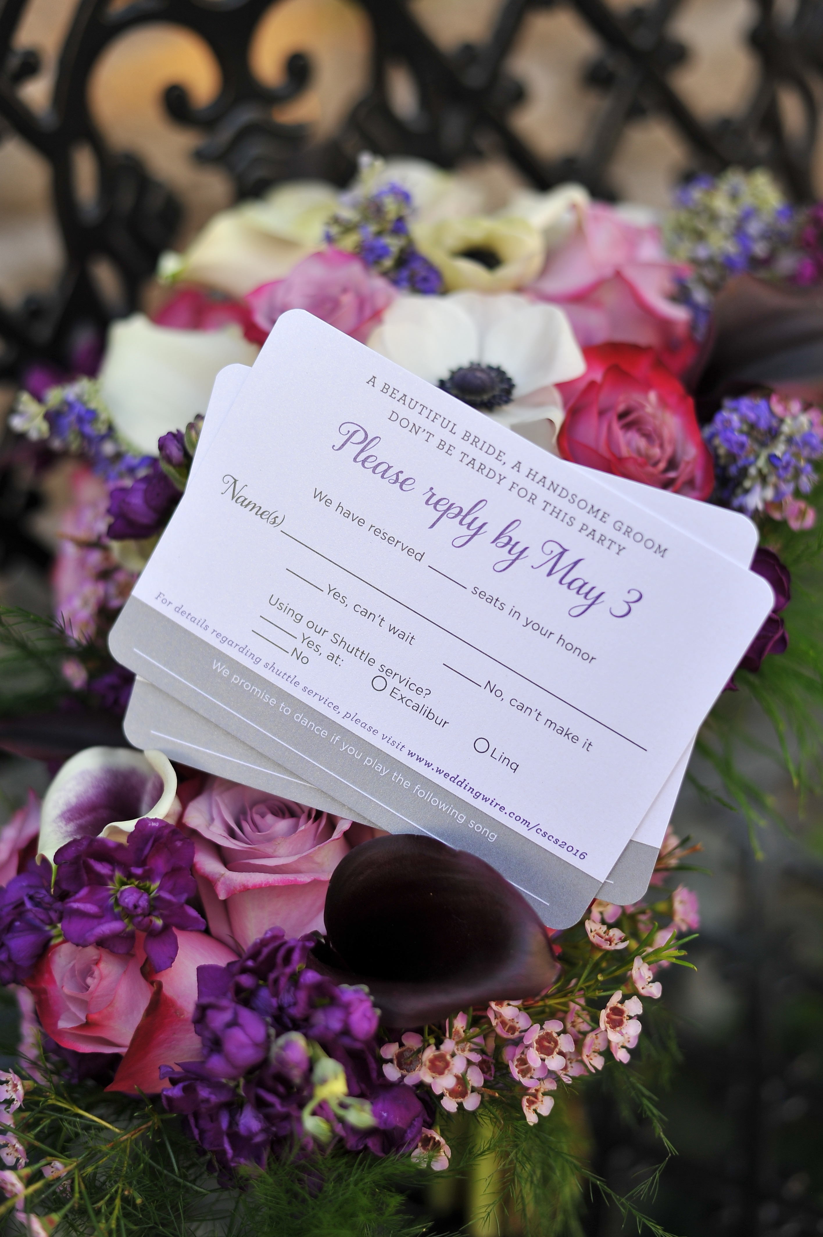 boarding pass wedding reply cards